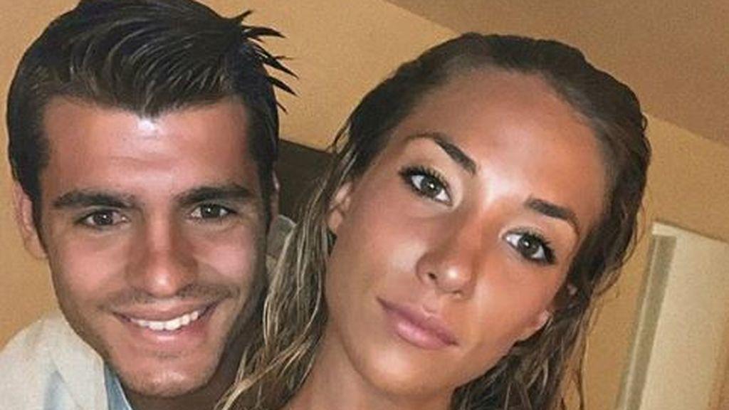 """El detalle de Morata y Alice Campello con los hijos de Cristiano Ronaldo: """"Gracias por estos amorosos"""""""