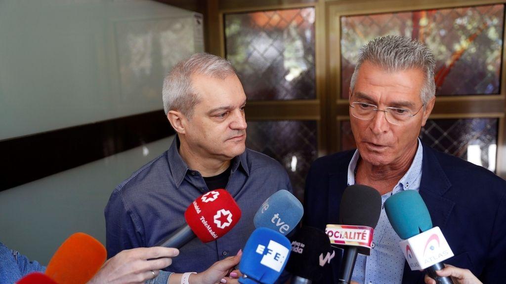 Dolor en el último adiós a Chicho Ibáñez