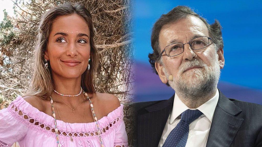 """María Pombo posa con Mariano Rajoy durante sus vacaciones en Ibiza: """"Para los haters"""""""
