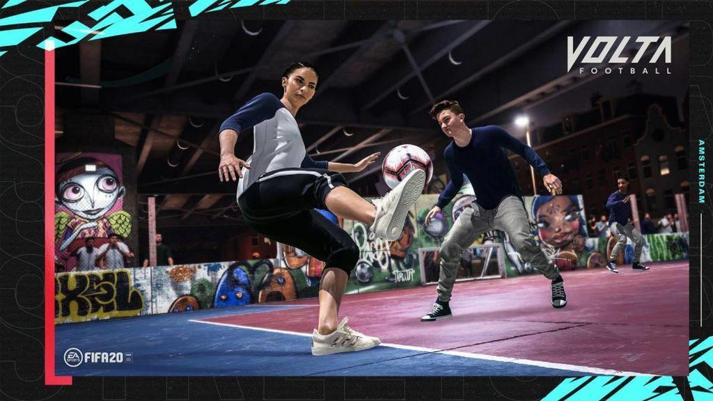 El fútbol callejero vuelve a los videojuegos con el nuevo trailer de FIFA20