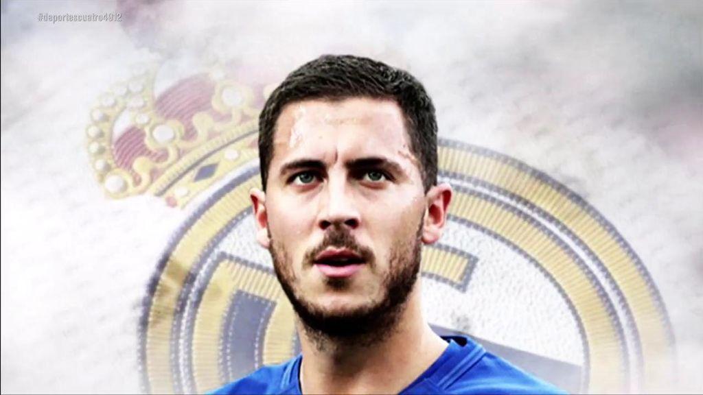 """Las primeras palabras de Hazard como jugador del Real Madrid: """"Era mi sueño"""""""