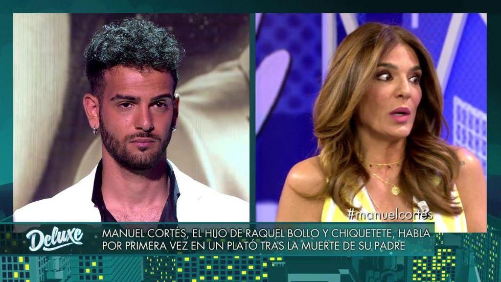 Raquel Bollo no quiere estar presente en la entrevista de Manuel