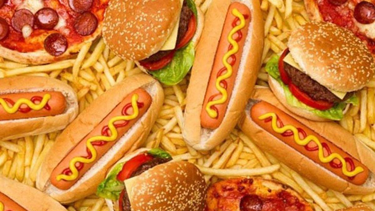 Las alergias infantiles pueden estar causadas por  las grasas y azúcares de la comida basura