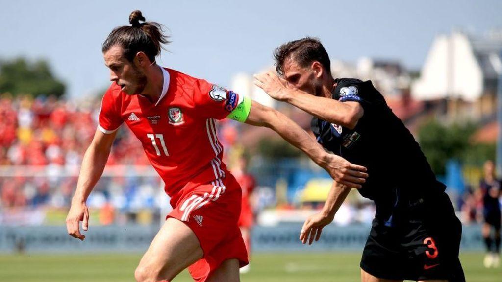Modric se lleva el duelo individual ante Bale en la victoria de Croacia ante Gales (2-0)