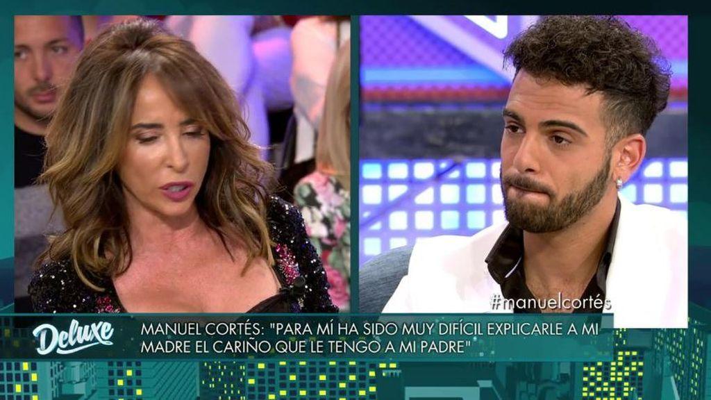 Manuel Cortés habla del motivo por el que su padre se distanció