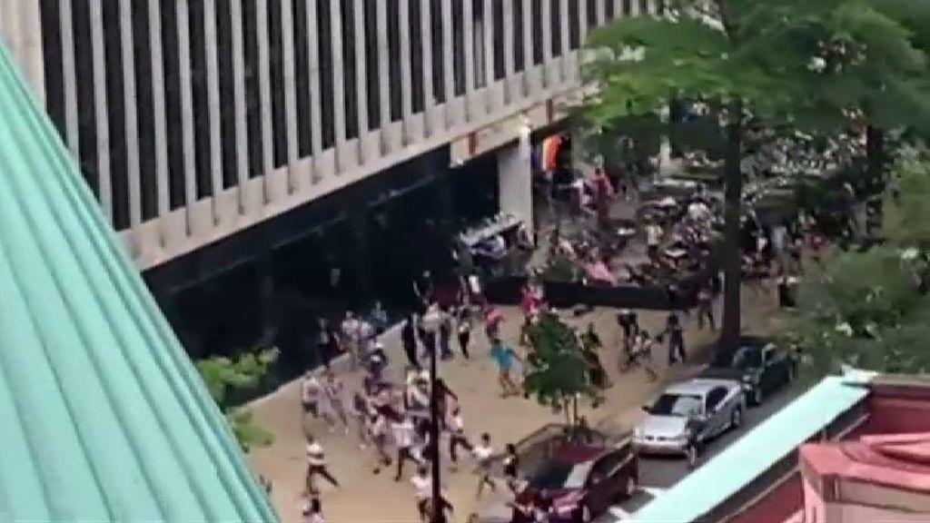 Pánico en el Orgullo Gay de Washington por una falsa alarma de tiroteo