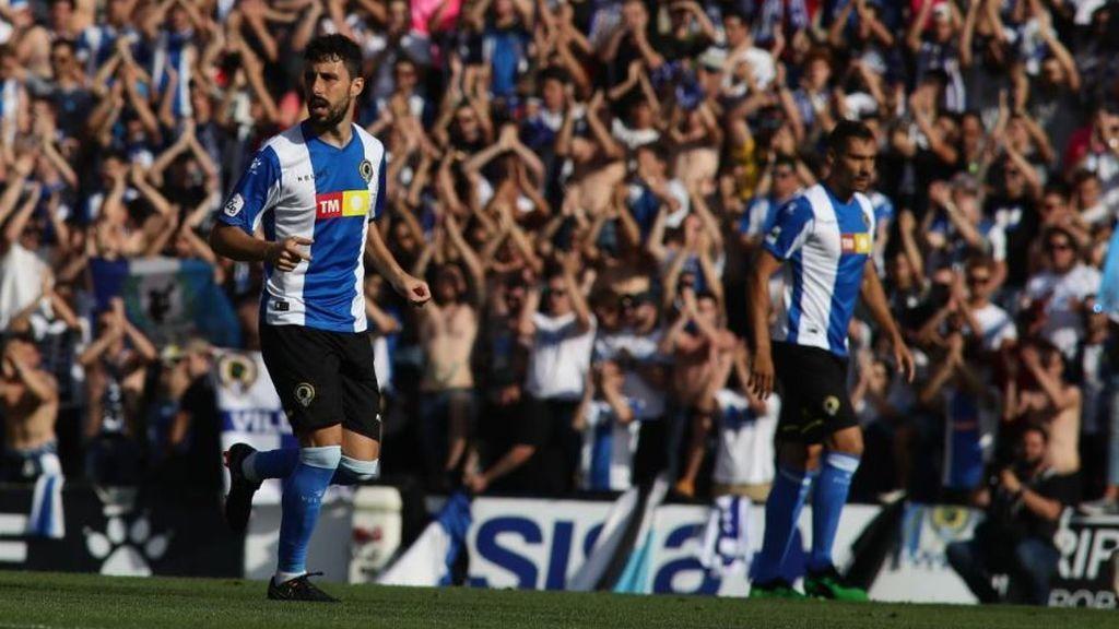 Alfaro y Carlos Martínez dan la victoria al Hércules ante un Logroñés que buscará la remontada en Las Gaunas (3-1)