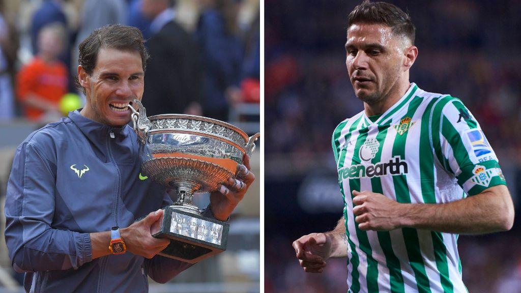 """El vacile de Joaquín a Rafa Nadal tras su 12º título de Roland Garros: """"Reconozco que tienes todas mis cosas """""""