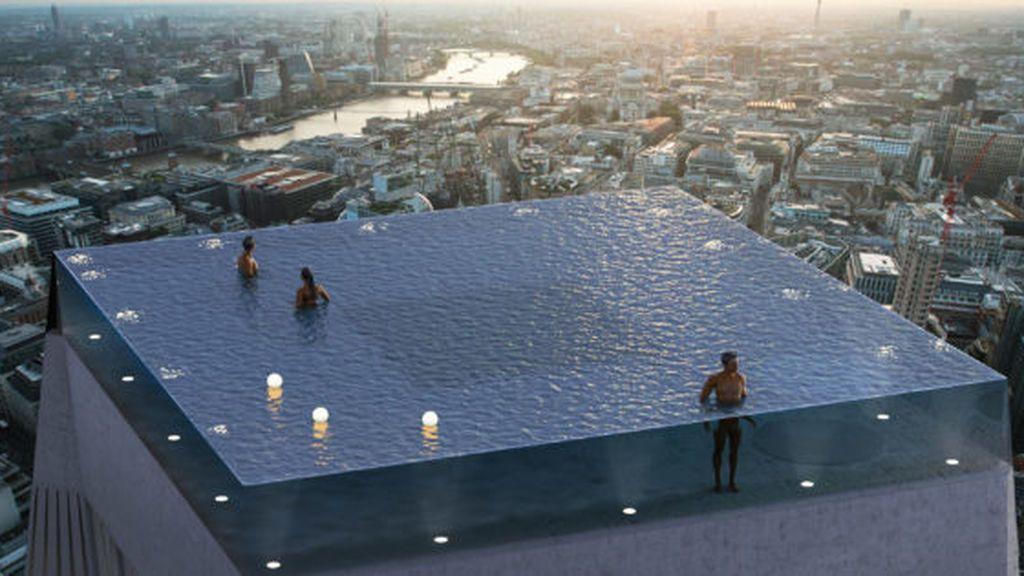 Infinity pool Londres