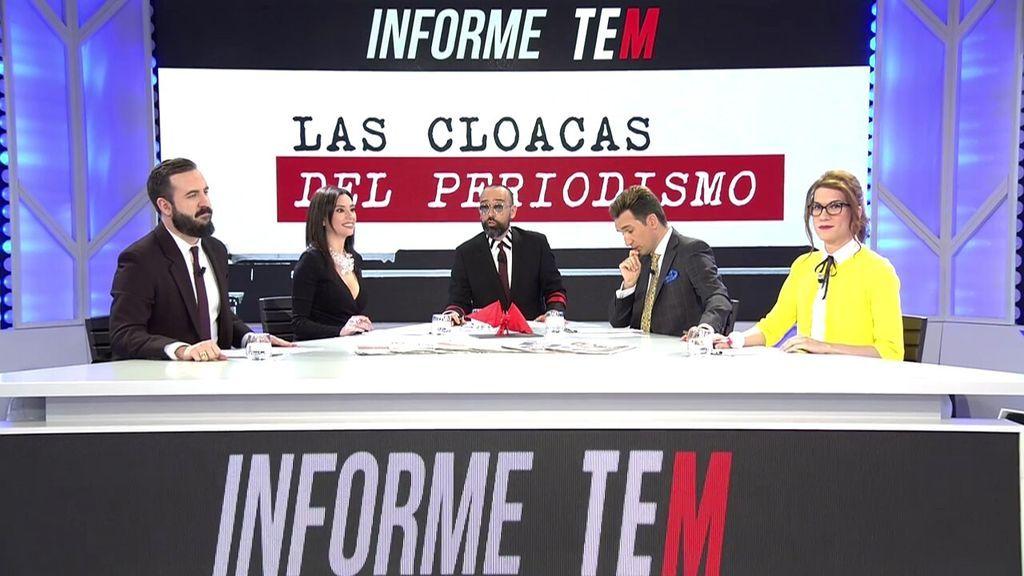 El 'Informe TEM: Las cloacas del periodismo' bate récords de audiencias con 3.6 millones de televidentes