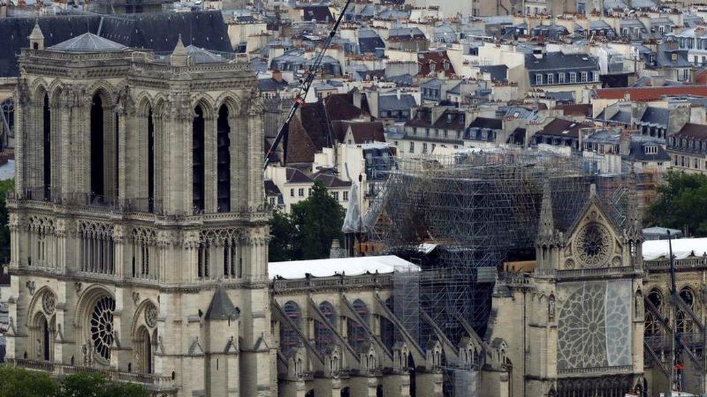 La Catedral de Notre Dame celebrará la primera misa tras el incendio este fin de semana
