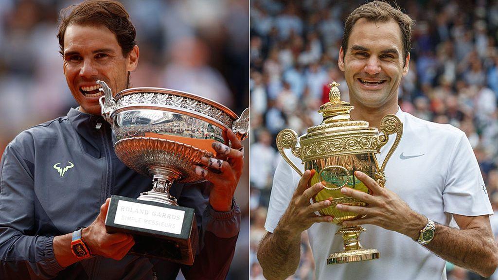 ¿Superará Rafa Nadal a Roger Federer en títulos de Grand Slam?