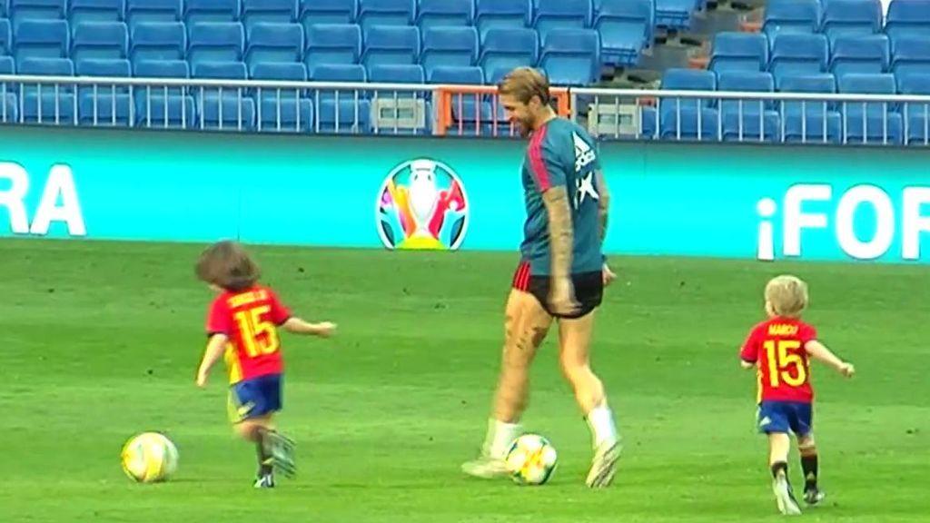 Sergio Ramos se enfrenta al Santiago Bernabéu por primera vez tras los rumores de su salida a China