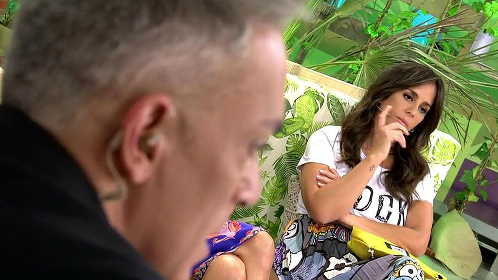 Una broma pesada de Kiko Hernández acaba con Anabel Pantoja fuera de plató
