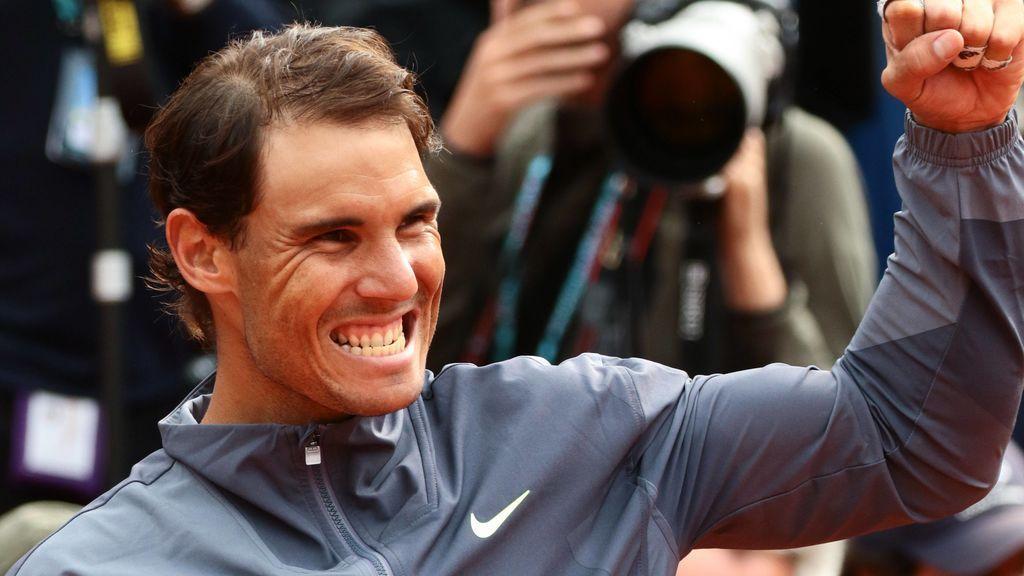 """Nadal: """"La semana de Roma fue decisiva para tener este trofeo entre mis manos otra vez"""""""