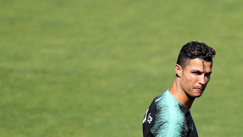 La reacción de Cristiano Ronaldo al no ser nombrado mejor jugador de la UEFA Nations League