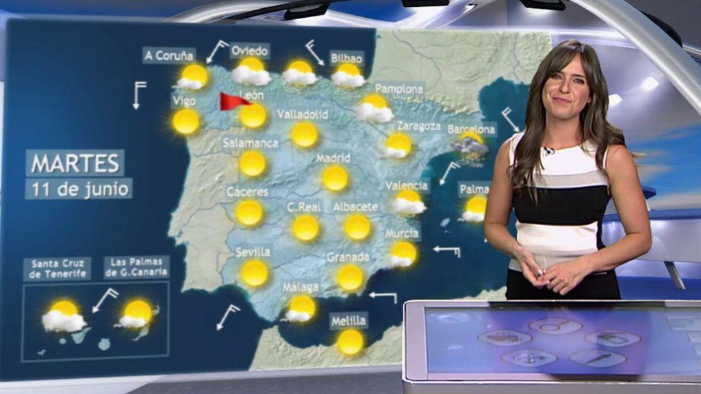 Vuelta a la lluvia: el tiempo estable se despide en el Cantábrico y en el noreste peninsular