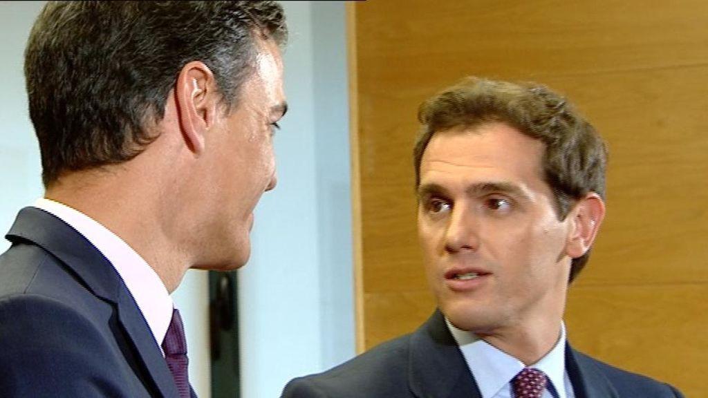 Sánchez y Rivera en el Comgreso