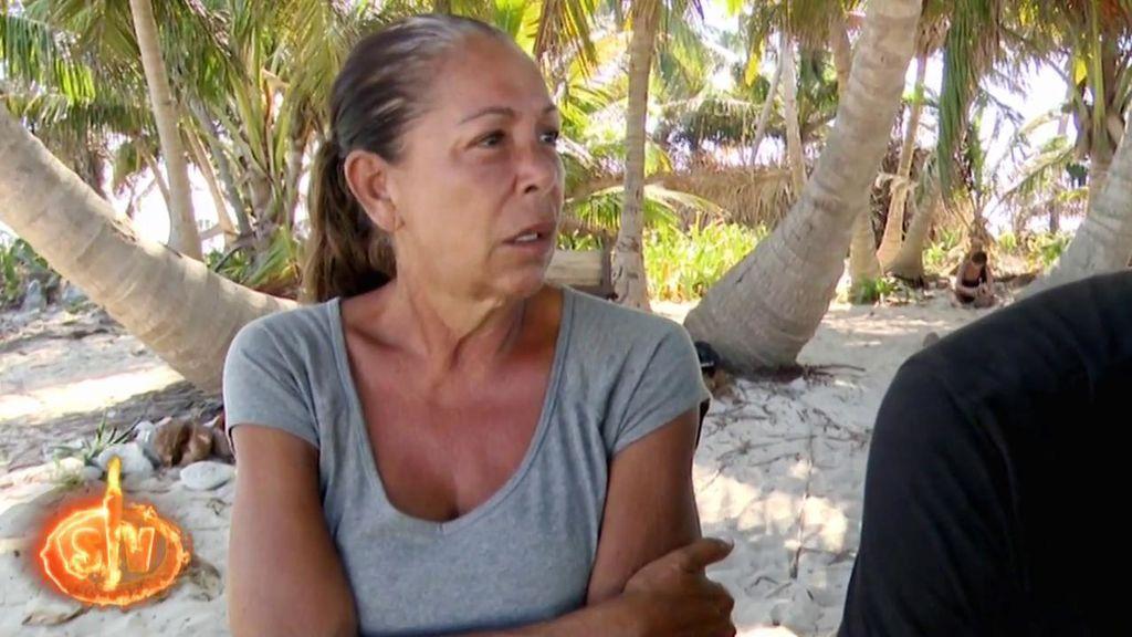 """Isabel Pantoja se enfada con Omar: """"Me estás intentando dejar por embustera"""""""