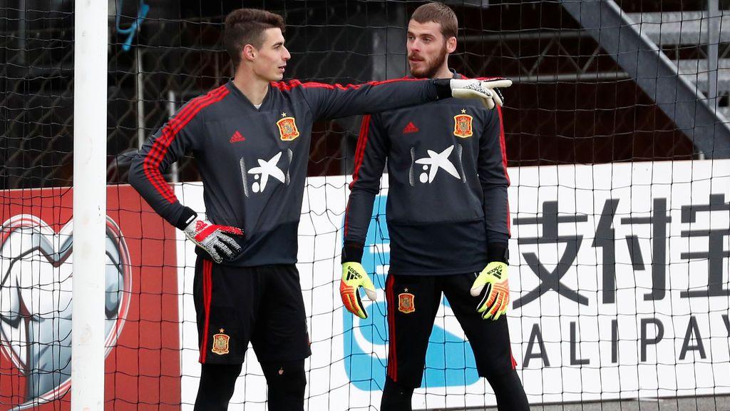 ¿Quién debe ser el portero titular de España?