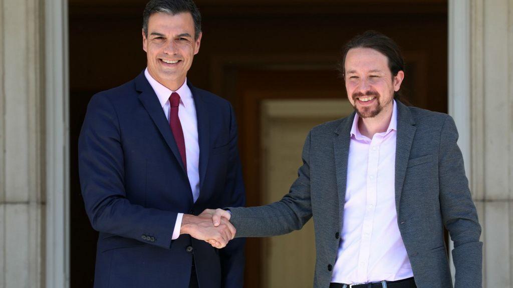 Sánchez inicia con Iglesias los contactos con los grandes partidos para la investidura