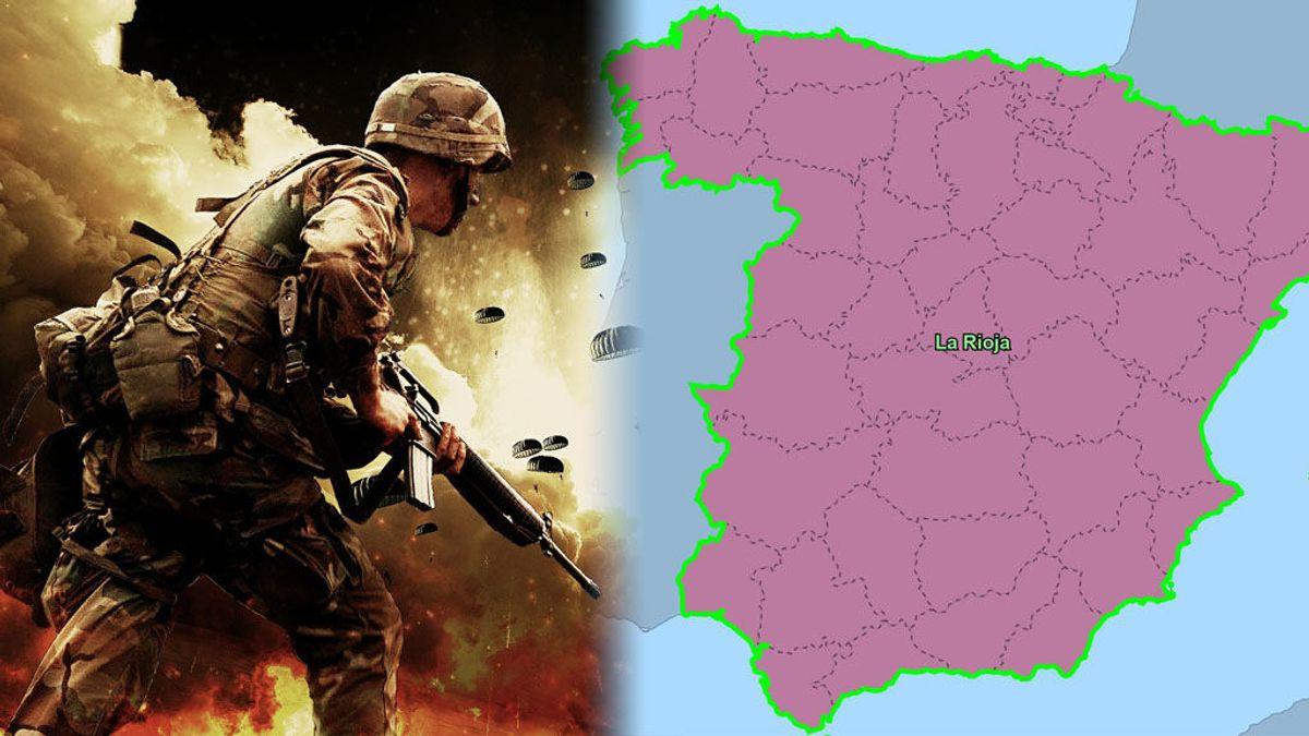 Última hora: La Rioja se hace con España en la 'Guerra Civil Bot'