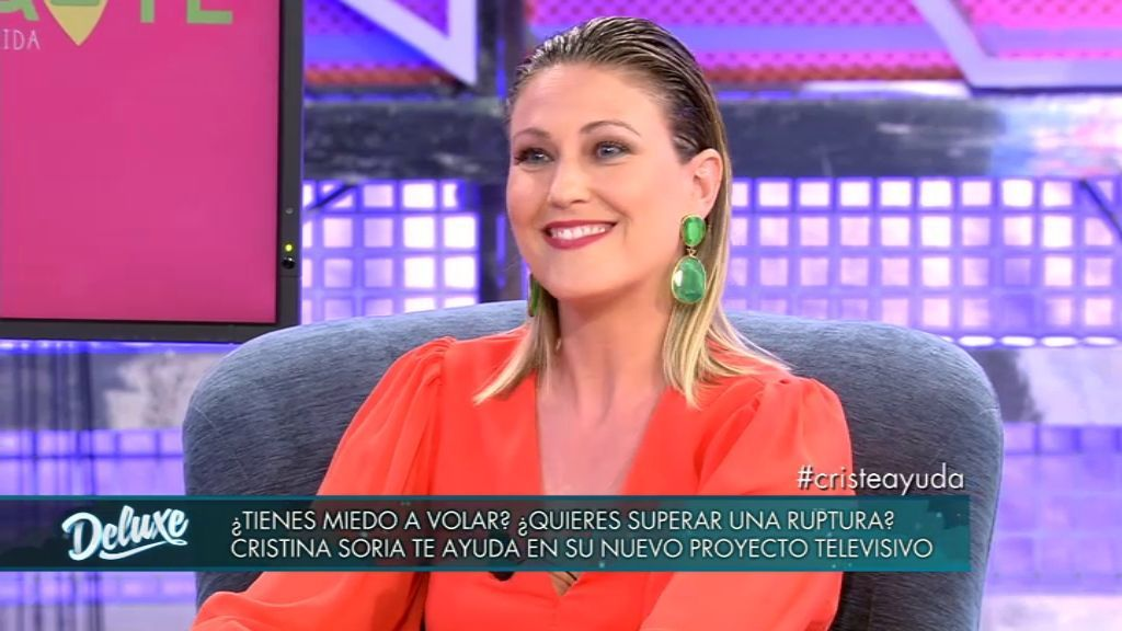 Cristina Soria visita el plató para presentarnos 'Ayuda-Te, cambia tu vida', su nuevo programa