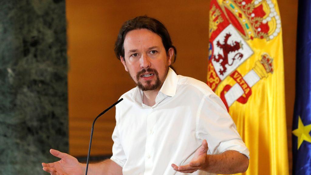"""Iglesias sobre su entrevista con Sánchez:  """"Seguimos hablando de un Gobierno de cooperación"""""""