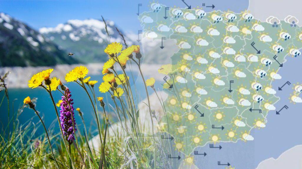 Nevadas en pleno junio por el aire frío polar: dónde serán las más importantes