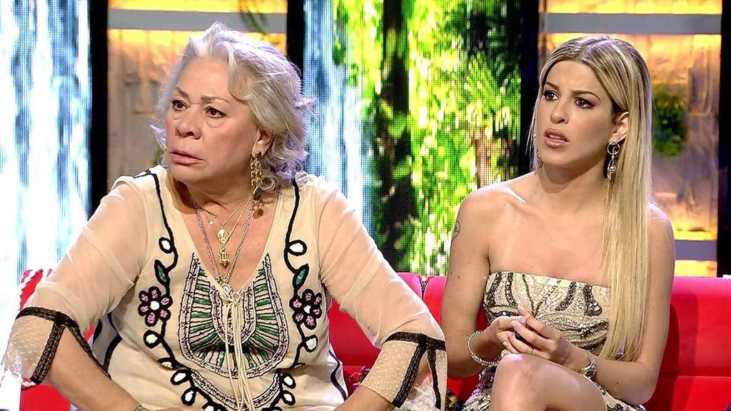 Carmen Gahona y Oriana unen fuerzas en contra de Isabel Pantoja