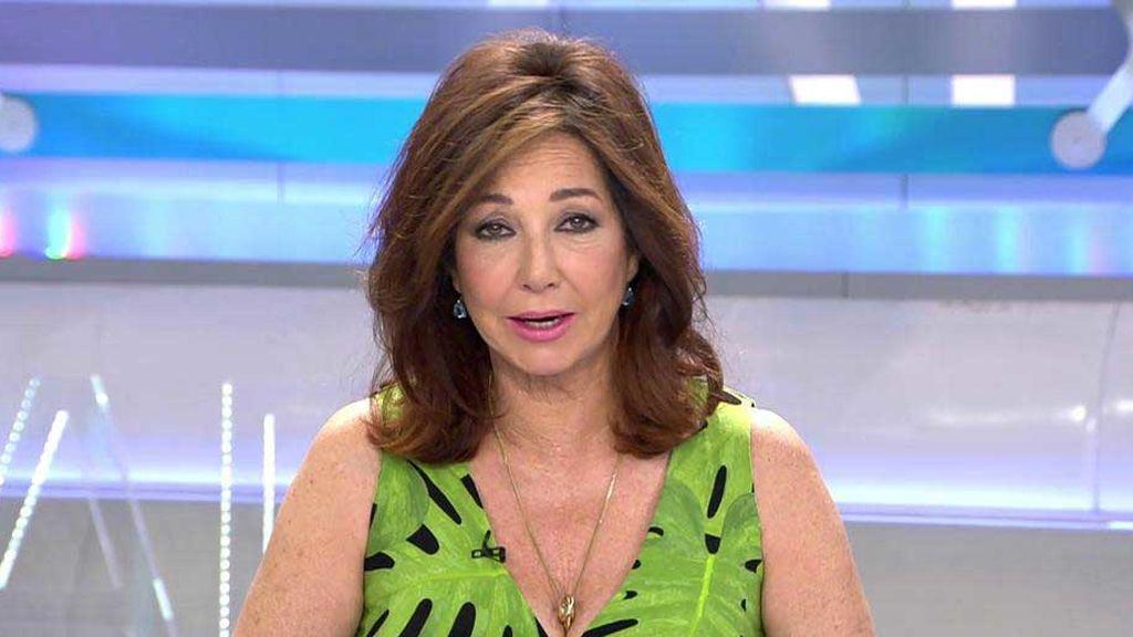 """Ana Rosa: """"Voy a hacer una petición popular para que le den un Ministerio a Pablo Iglesias"""""""