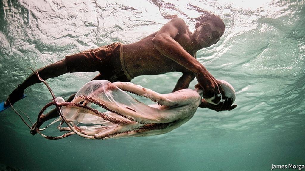Los hombres anfibios existen y viven en el sudeste asiático