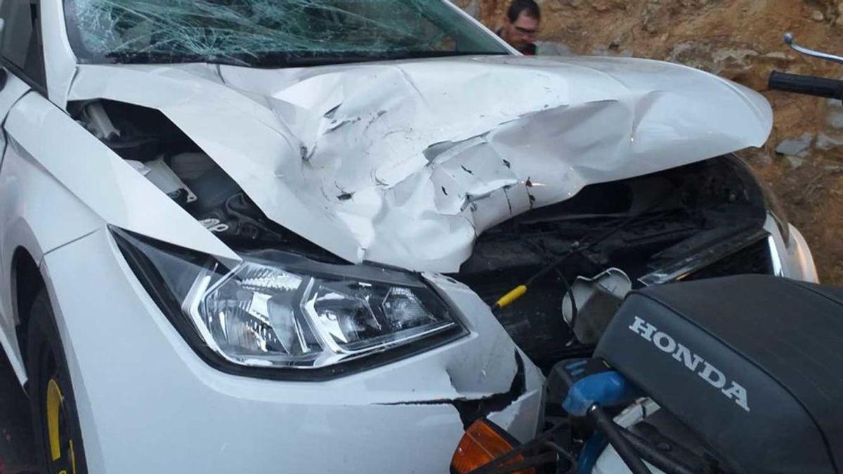 Muere un motorista que fue embestido por un conductor bebido en Barcelona