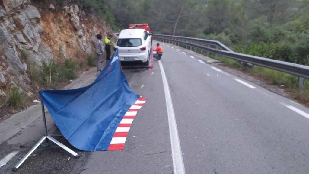 Muere un motorista que fue embestido por un conductor bebido en