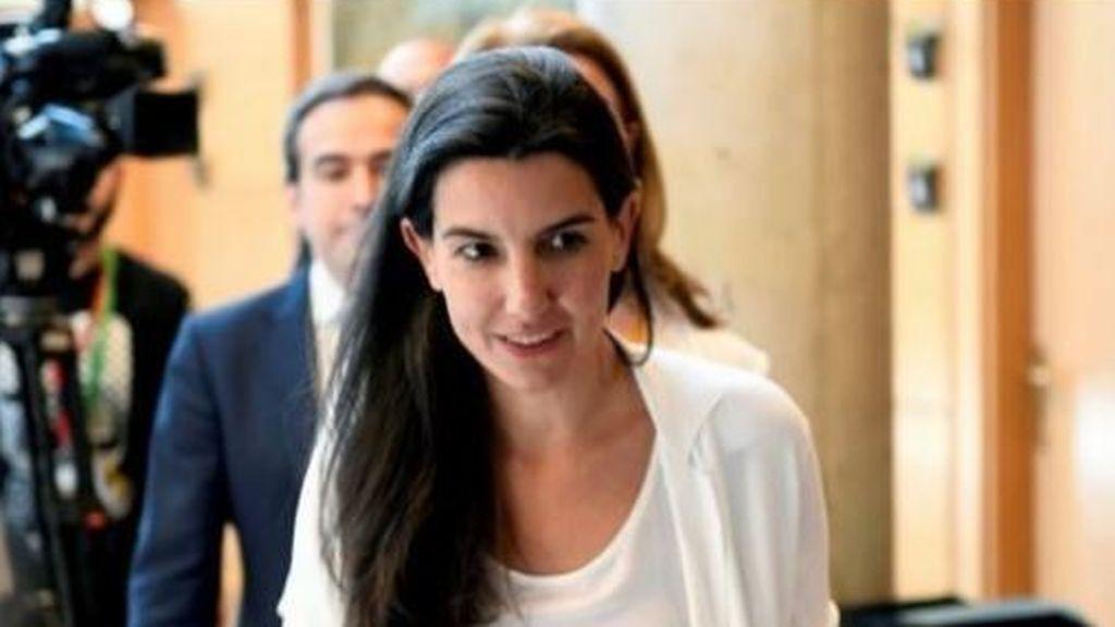 Rocío Monasterio en la Asamblea de Madrid