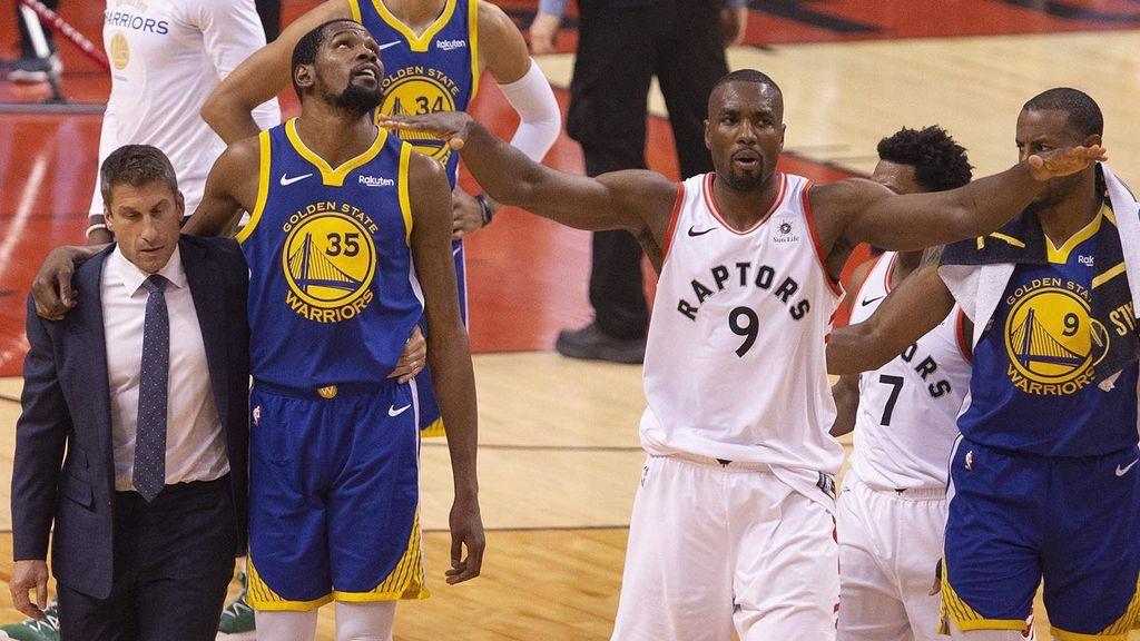 El gran gesto deportivo de Serge Ibaka pidiendo respeto a su afición cuando aplaudía la lesión de Kevin Durant