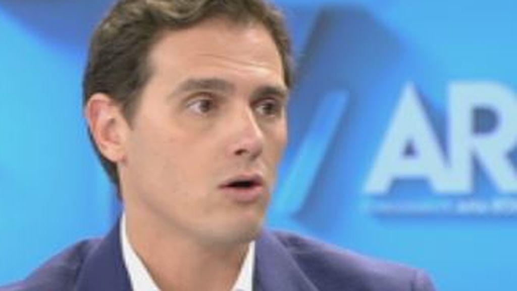Rivera niega pactos con Vox en Madrid