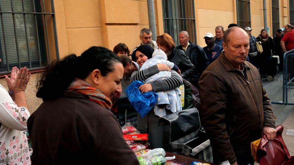 El número de personas que sufre una exclusión severa es aún mayor que la de antes de la crisis