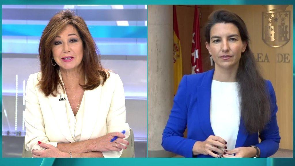 """Monasterio confirma las negociaciones de Vox y Ciudadanos: """"Tengo un abierto un canal con Aguado"""""""