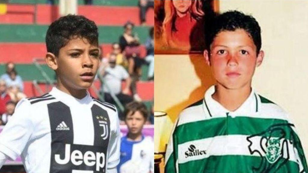 El Sporting de Lisboa quiere fichar al hijo de Cristiano Ronaldo para que el niño siga los mismo pasos que su padre