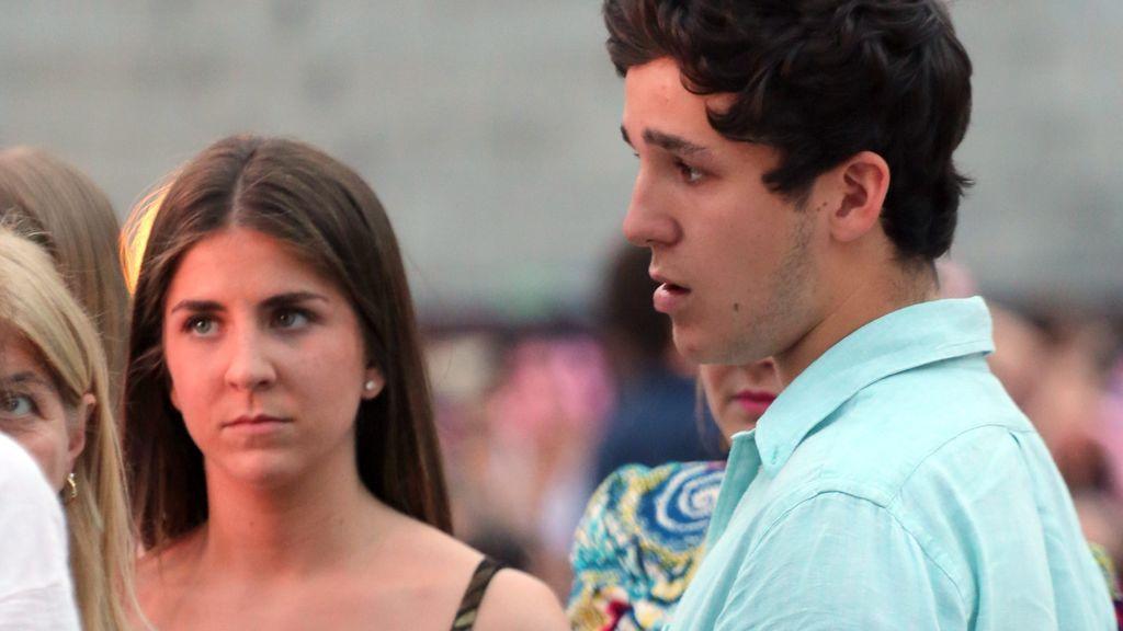 Froilán, pillado durante una fuerte discusión con su novia en plena calle