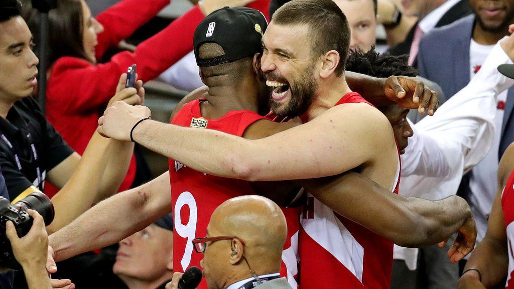 Los Raptors vencen a los Warrios y Marc Gasol e Ibaka consiguen el anillo de campeón de la NBA