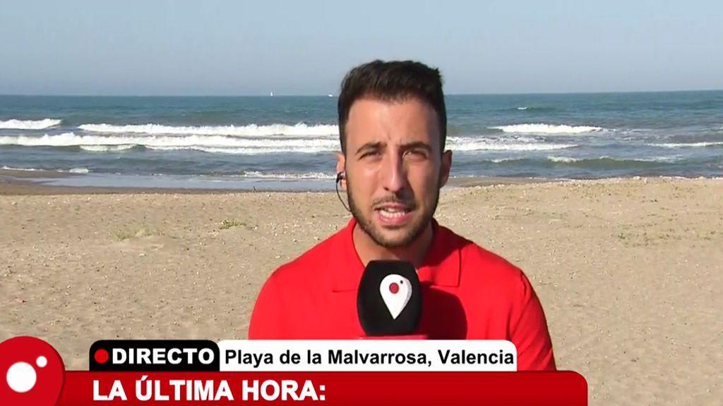 Cierran la playas de la Malvarrosa, Cabanyal y Patacona por residuos fecales en el agua