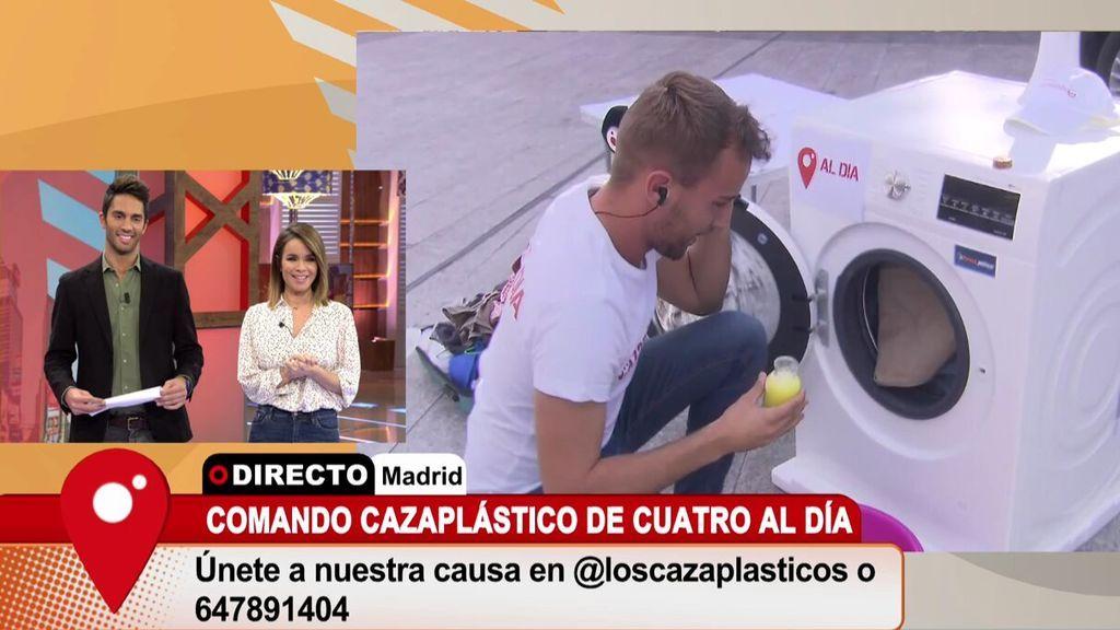 El 'Comando Cazaplástico' te da los consejos necesarios para contaminar menos con tu lavadora
