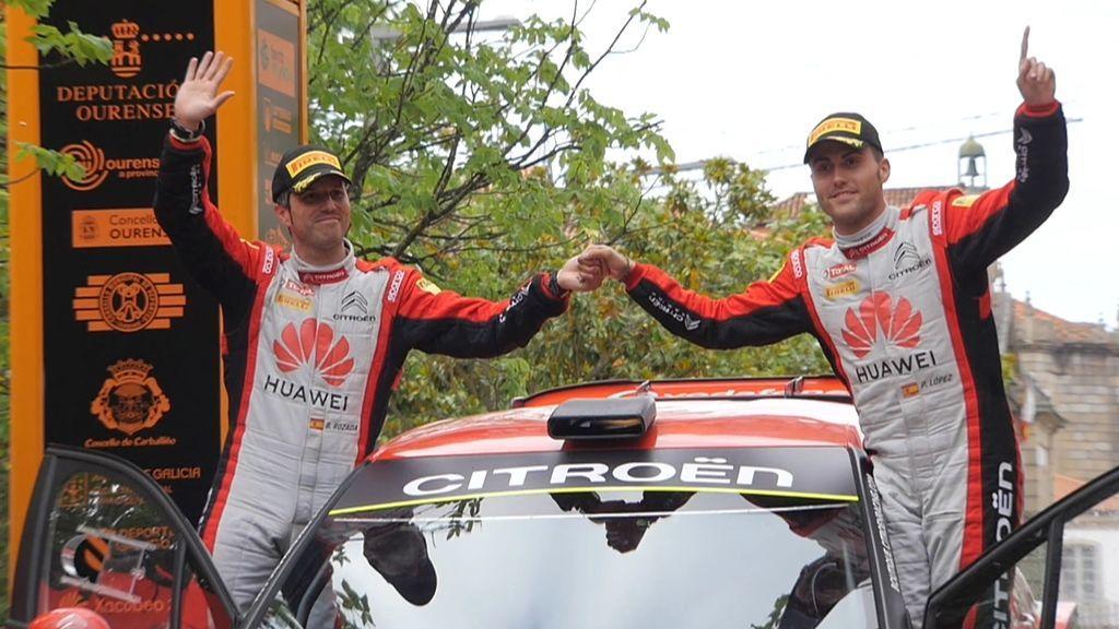 Pepe López se adjudica el Rally de Ourense y se consolida al frente del Campeonato de España de Rallyes de Asfalto