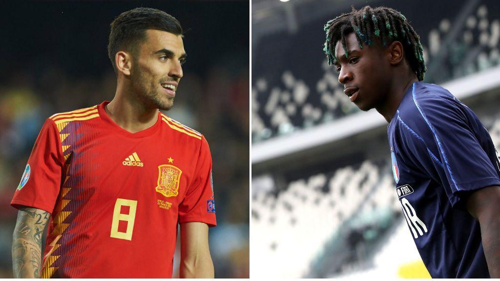 Kean, Cutrone y Zaniolo: las tres amenazas de Italia en el debut de España en el Europeo Sub-21