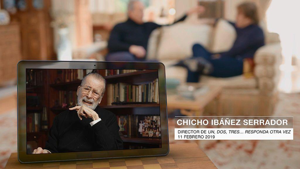 Así conoció Bigote Arrocet a Chicho Ibáñez Serrador y a Chiquito de la Calzada