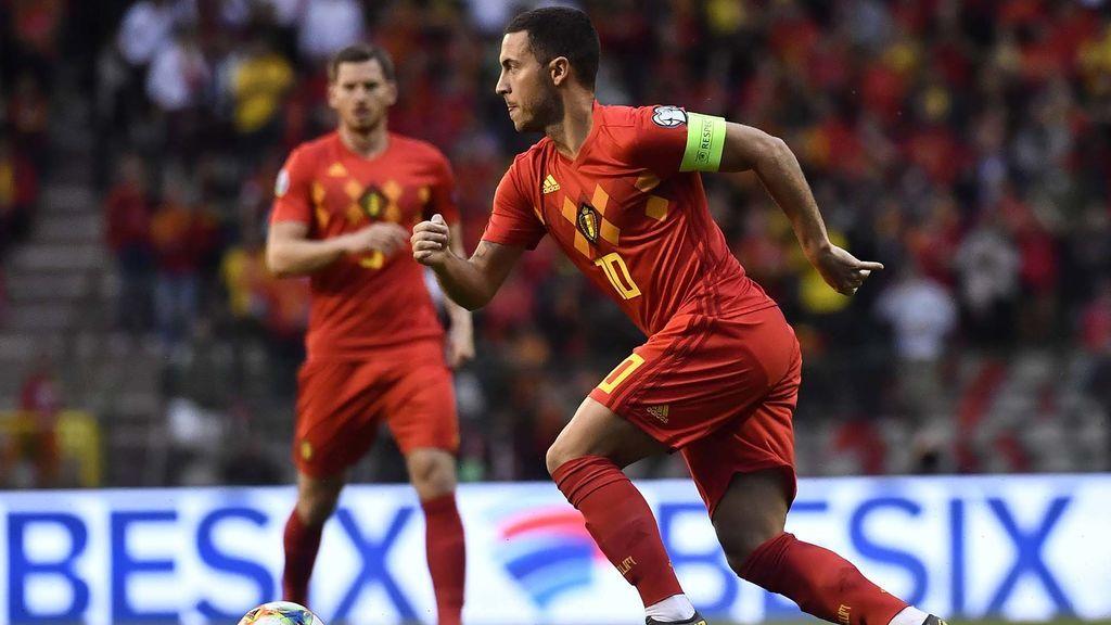 La Bélgica de Hazard se mantiene como mejor selección del mundo, según el último ranking FIFA