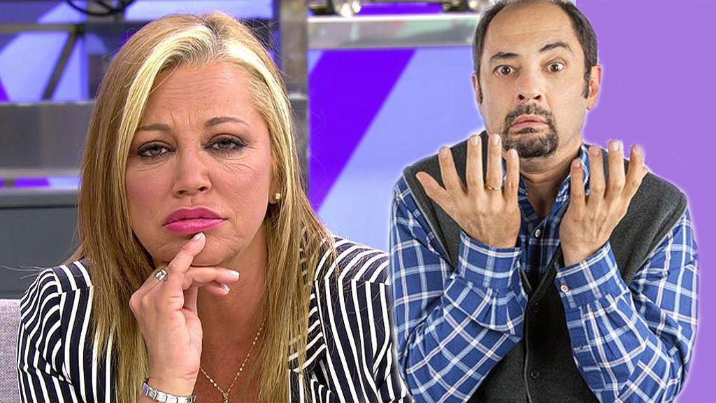 Antonio Recio le intenta vender pescado a Belén Esteban para su boda en un chat ficticio WhatsApp