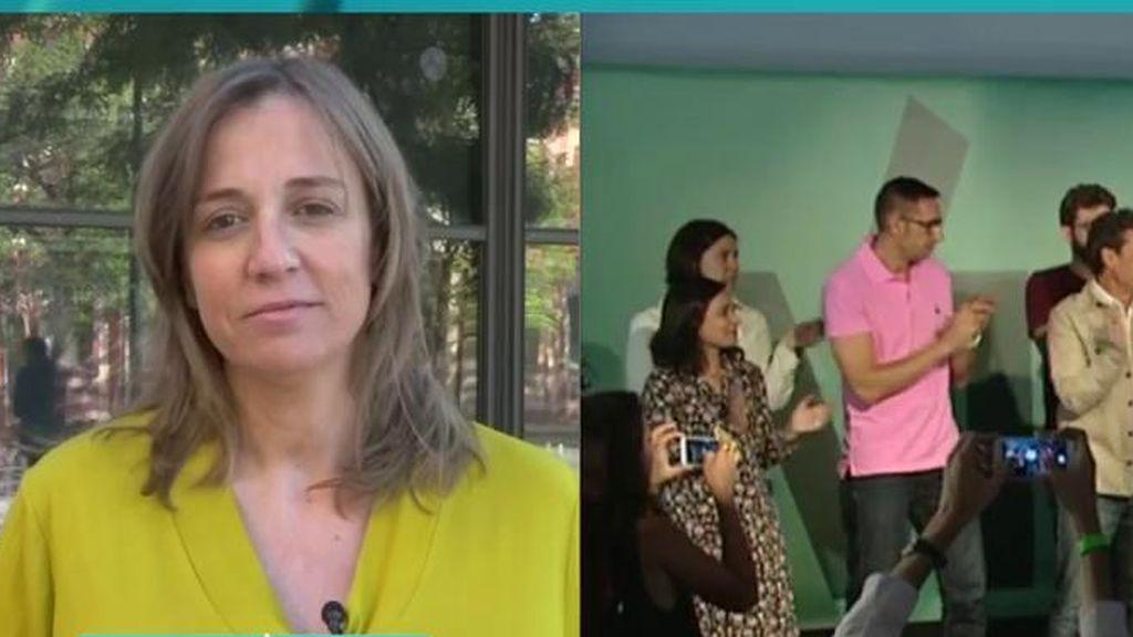 Tania Sánchez quiere a Carmena de alcaldesa